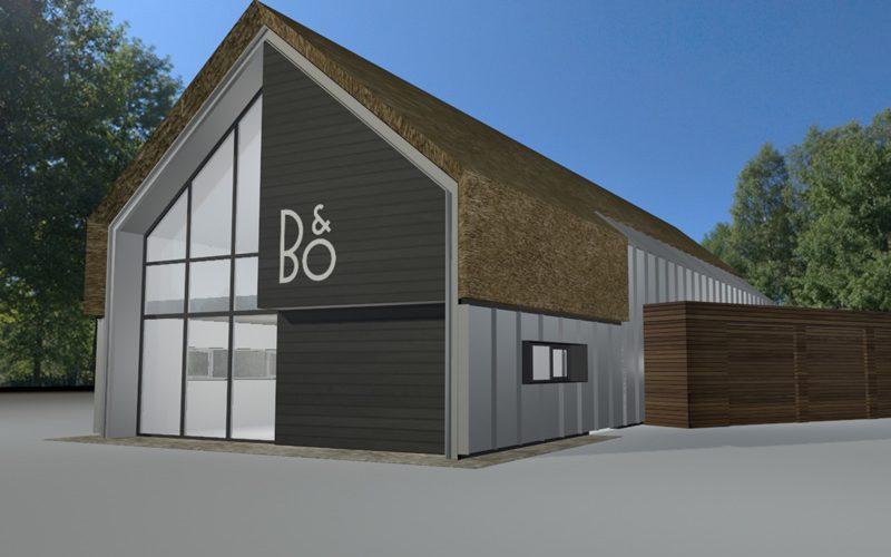 Bang & Olufsen Henri Tibosch Den Bosch Nieuwbouw
